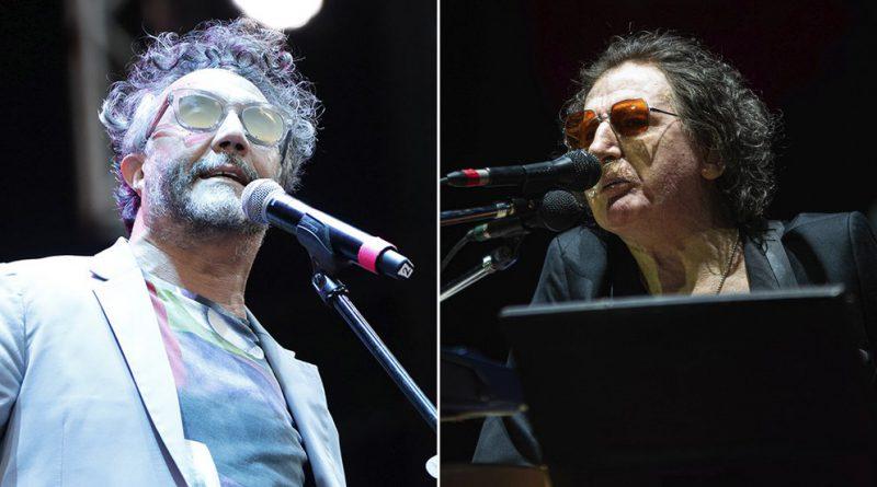 Fito Paez homenajea a Charly García en el Teatro Colón,